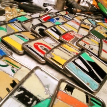 license plate buckles